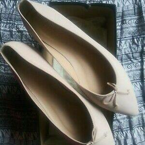 J. Crew Gemma Leather Ballet Flats